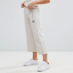 Adidas summer NYC 3 stripe culottes
